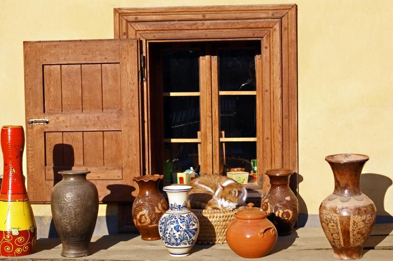 Inspirace zahrady v podobě keramiky